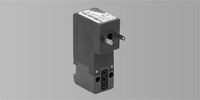CAMOZZI 15mm 3/2Wegeventil, Serie PL, Stecker Unten