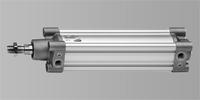 CAMOZZI Pneumatikzylinder ISO 15552