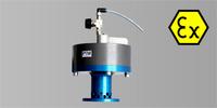 PTM Rührweksmotor mit ATEX Zonentrennflansch